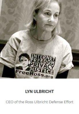 Lyn Ulbricht - Speaker at the Crypto Rockstars Blockchain Conference 2018