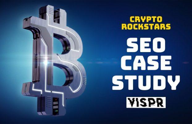 SEO Case Study – Crypto Rockstars
